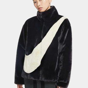 Women's Faux Fur Jacket Nike Sportswear
